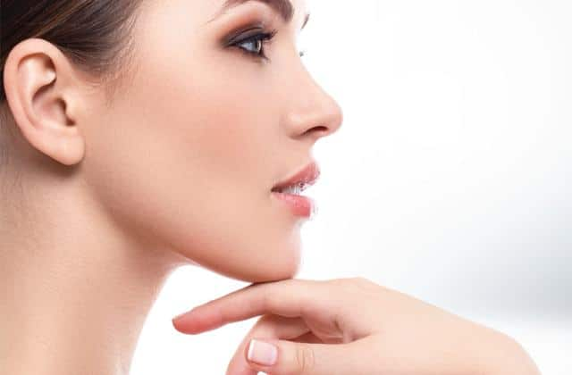 remove fat from chin